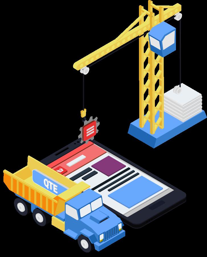 Webbutveckling, digitala projekt, webbyrå, qte, qte development, qte development ab